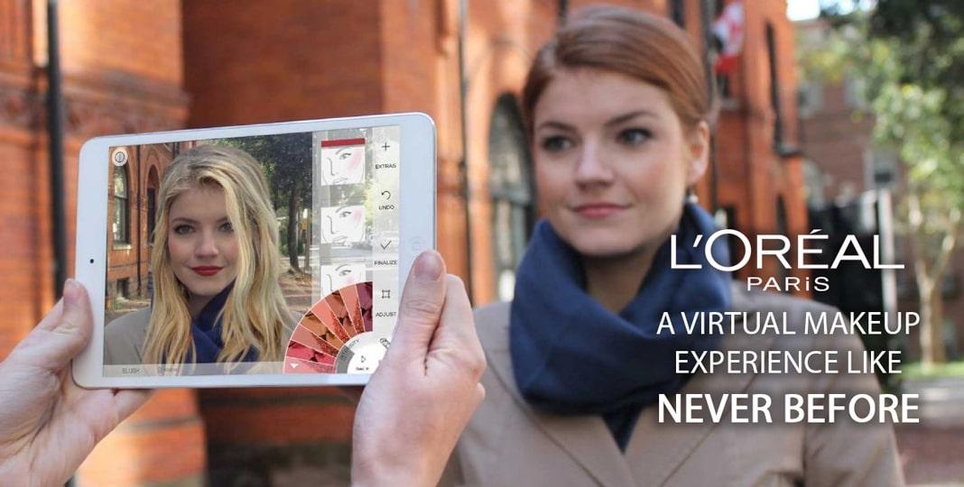 L'Oréal bringt AR Make-up auf Facebook