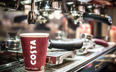 Der smarte Kaffeebecher bei Costa Coffee