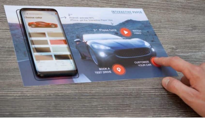 Interactive Paper macht Print-Medien digital und interaktiv