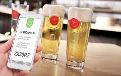 Glashersteller RASTAL setzt auf NFC-Technologie