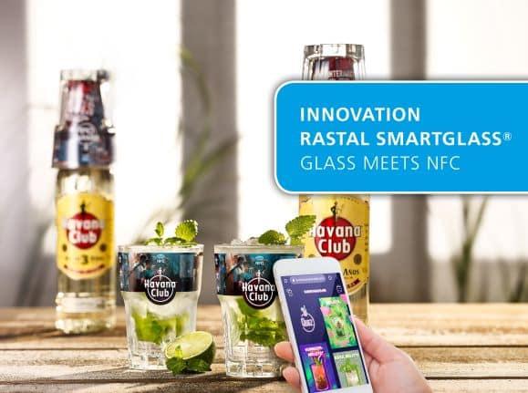 Rezepte direkt über das smarte Havana Club Glas abfragen