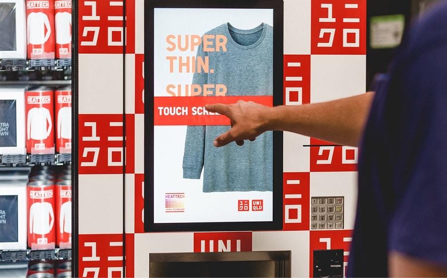 Uniqlo - Verkaufsautomat