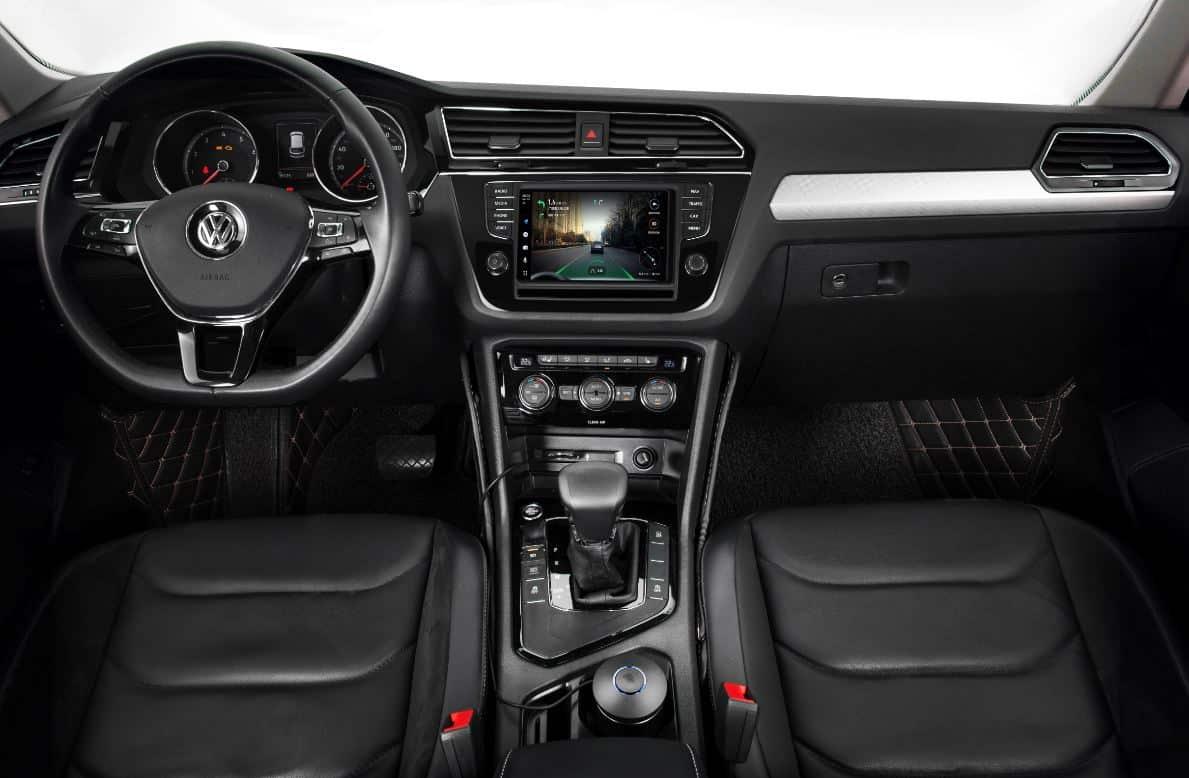 Tmall Genie Amap Autobox im Volkswagen