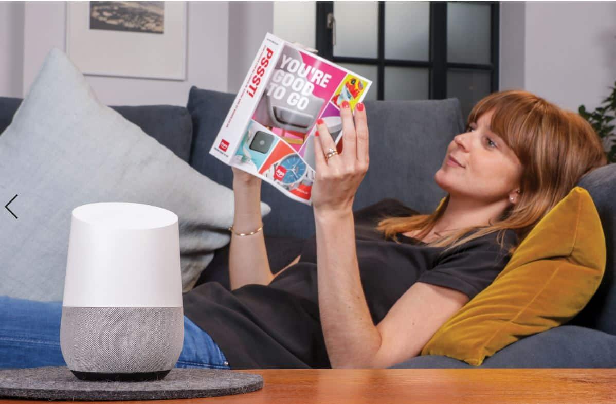 Einkaufen in der Zukunft mit digitalen Sprachassistenten - bequem und einfach