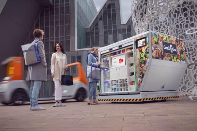 MetroSnap: mobiler Grap & Go Service