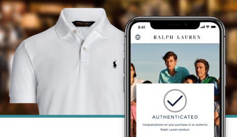 Ralph Lauren Produktauthentifikation mit QR-Codes