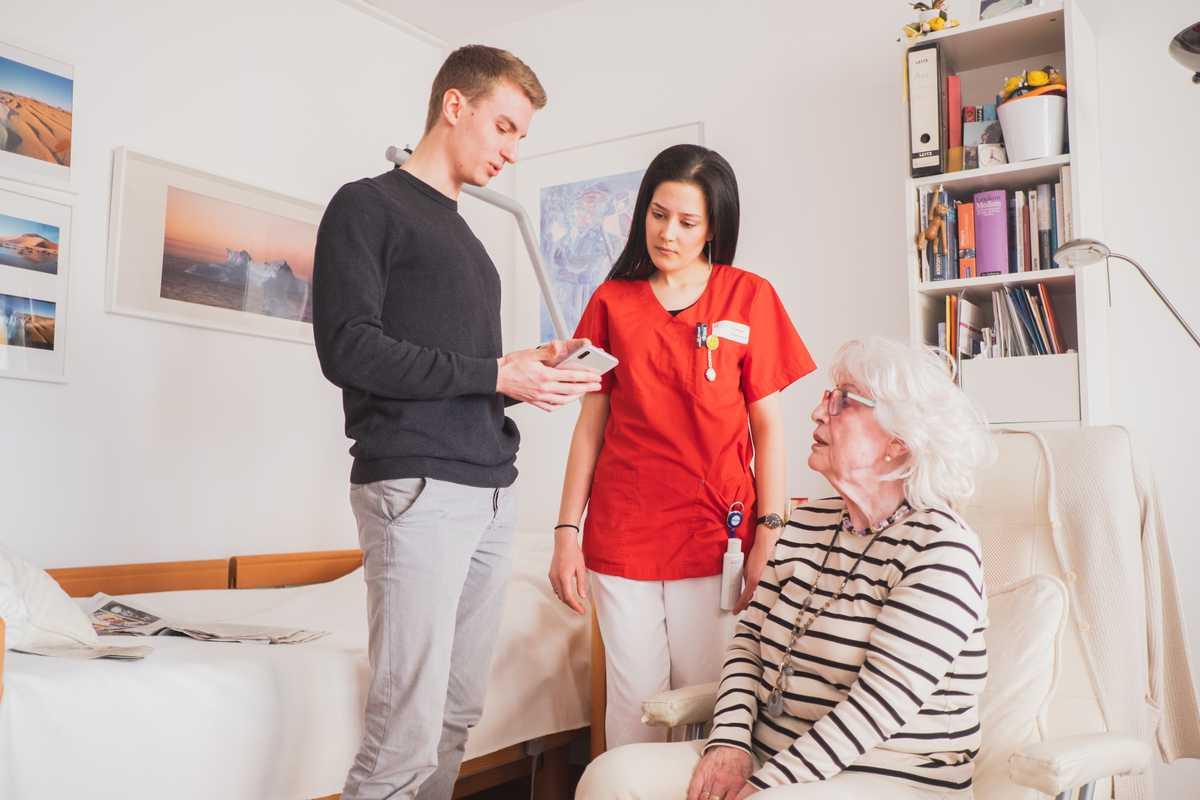 Entwickelt in enger Zusammenarbeit mit der Pflegepraxis