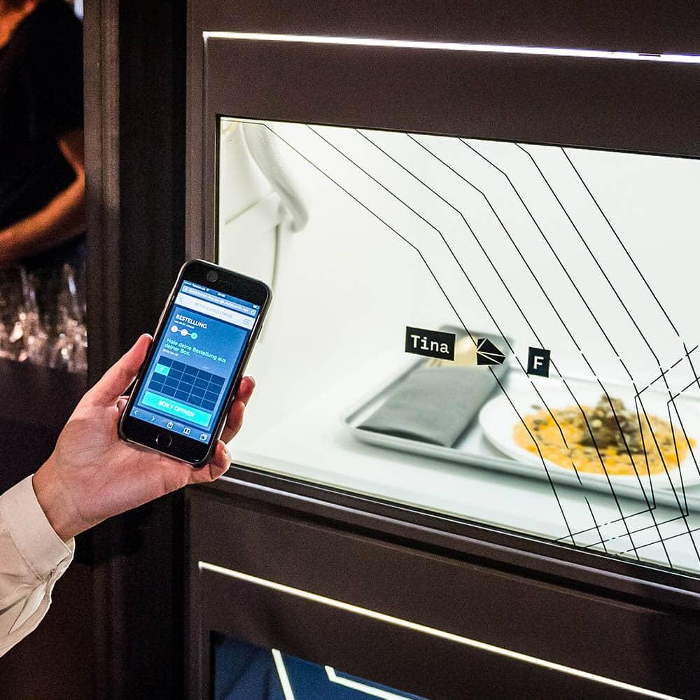 Food Wall im Data Kitchen