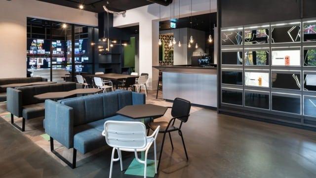 Blick in den Gastraum von Data Kitchen