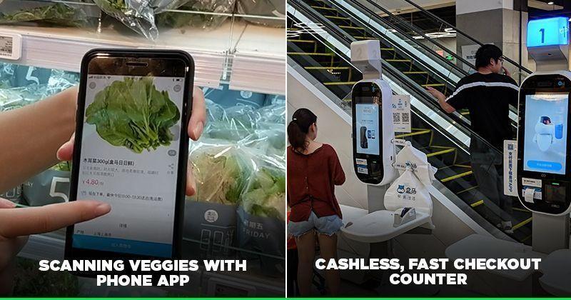 Stationäres Einkaufen mit dem Mobiltelefon