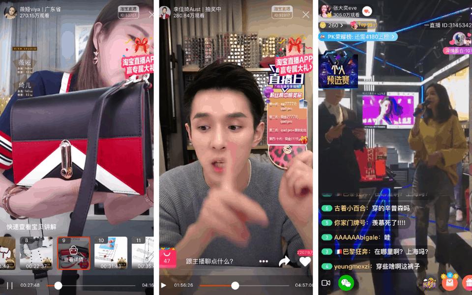 Live-Streaming Einkaufen