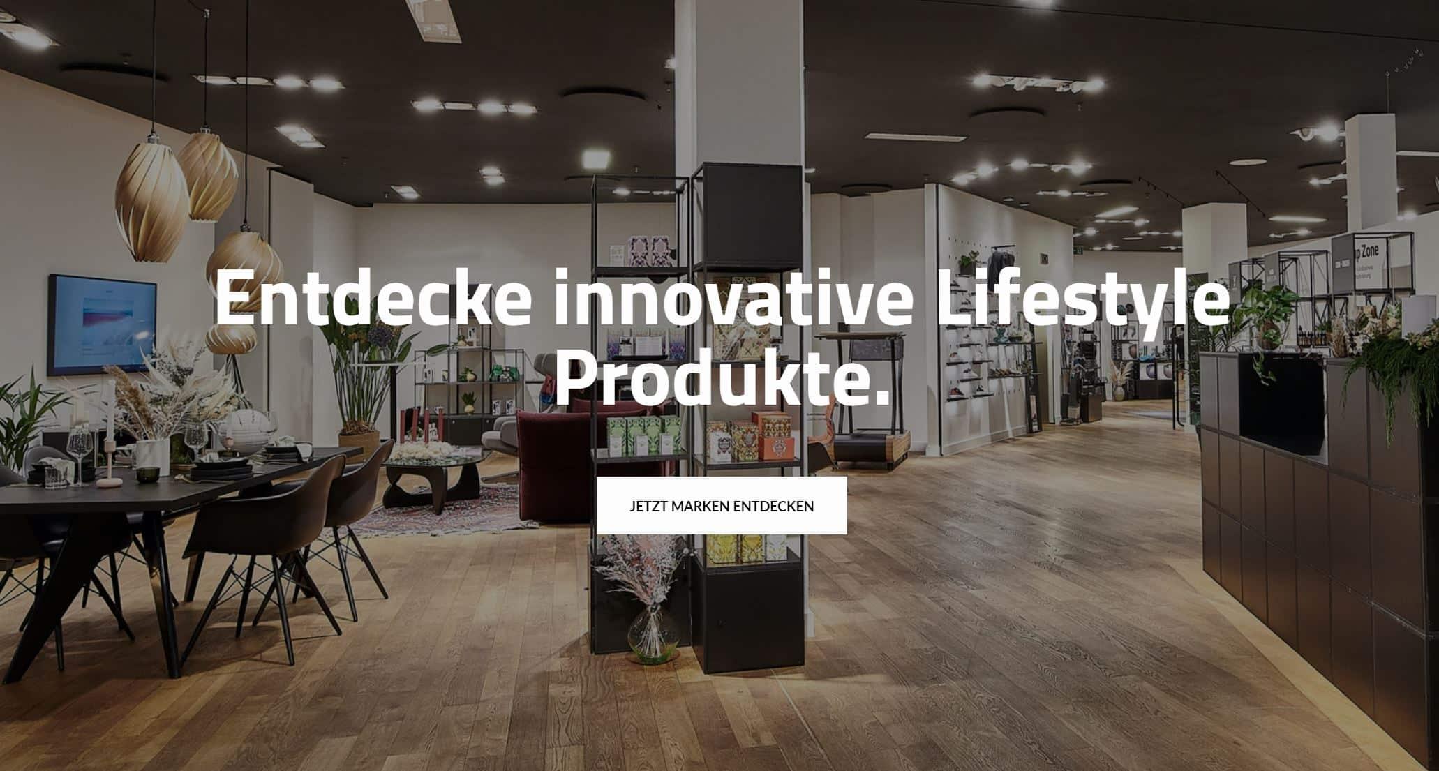 Marktplatz für innovative Lifestyle-Produkte