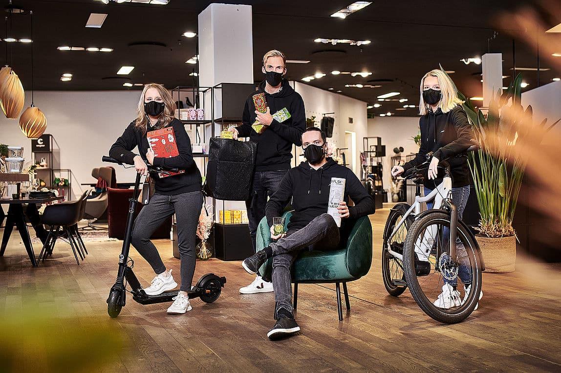Team im Kölner _blaenk-Store
