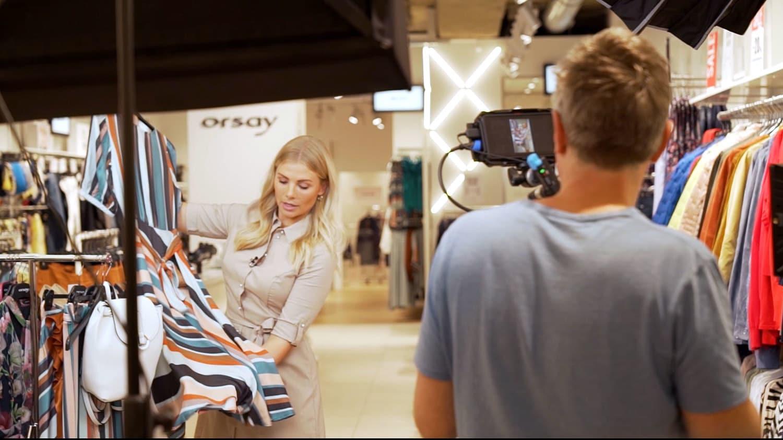 Livestream-Shopping bei Orsay