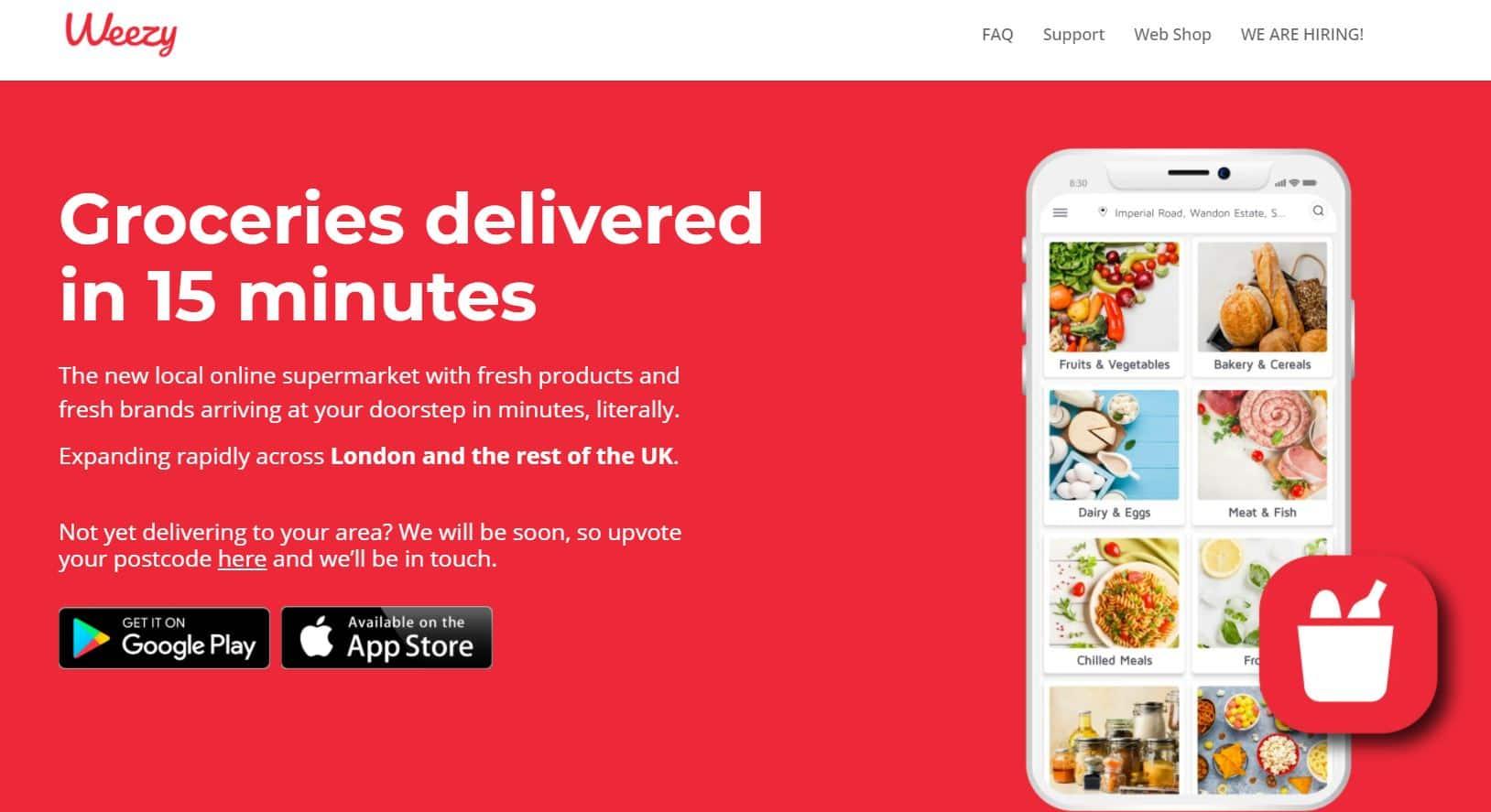 Weezy - 15 minutes supermarket aus London