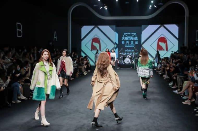 Online-Modenschau - Einkaufserlebnisse bei Shopping-Events in China