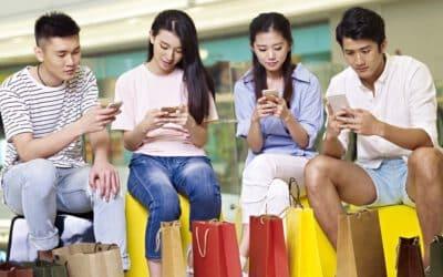 Stationäre digitale Einkaufserlebnisse in China (7)